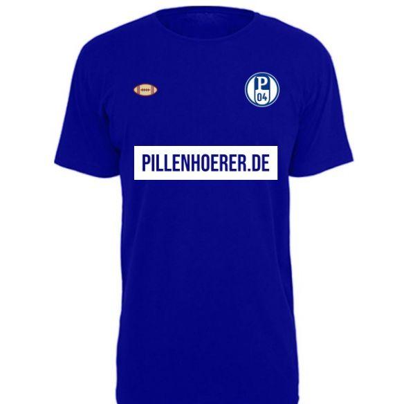 T-Shirt 'Pillke-Trikot' mit Wunschnamen und Nummer