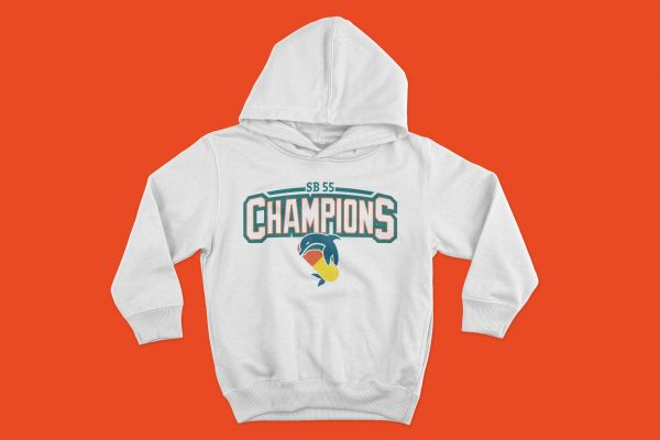 Hoodie Pillphins Champions