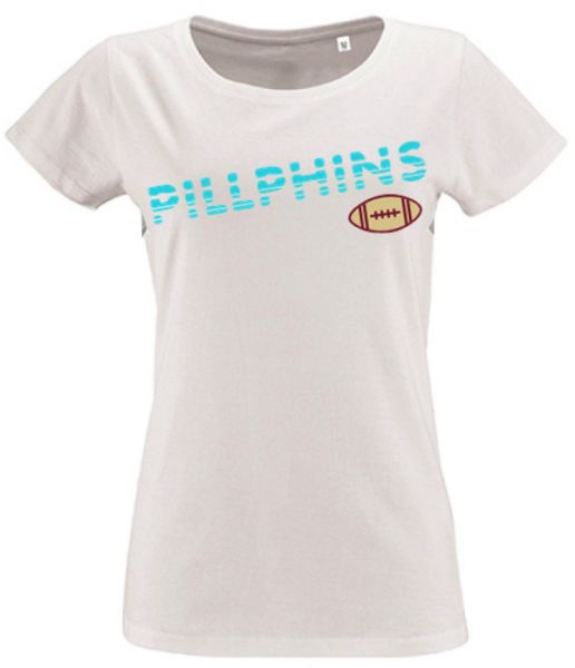 Ladies T-Shirt 'Pillphins'