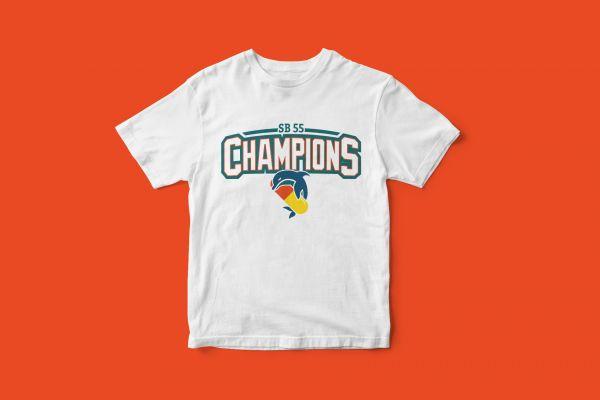 T-Shirt 'Pillphins Champions