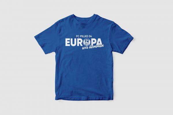 T-Shirt 'Pillke Europa