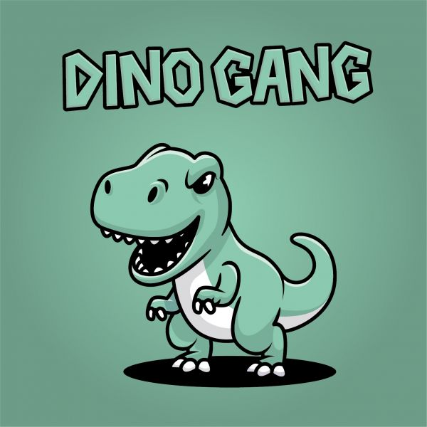 Poster 'Dinogang'